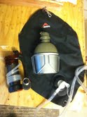 mobile water filter system, MSR, bladder, canteen with nesting cup