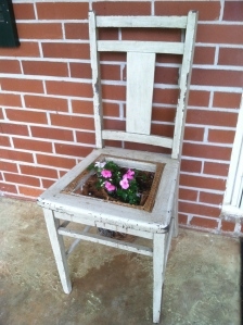 DRG's clever chair planter