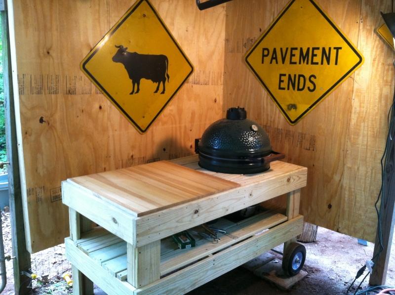 big green egg table plans medium