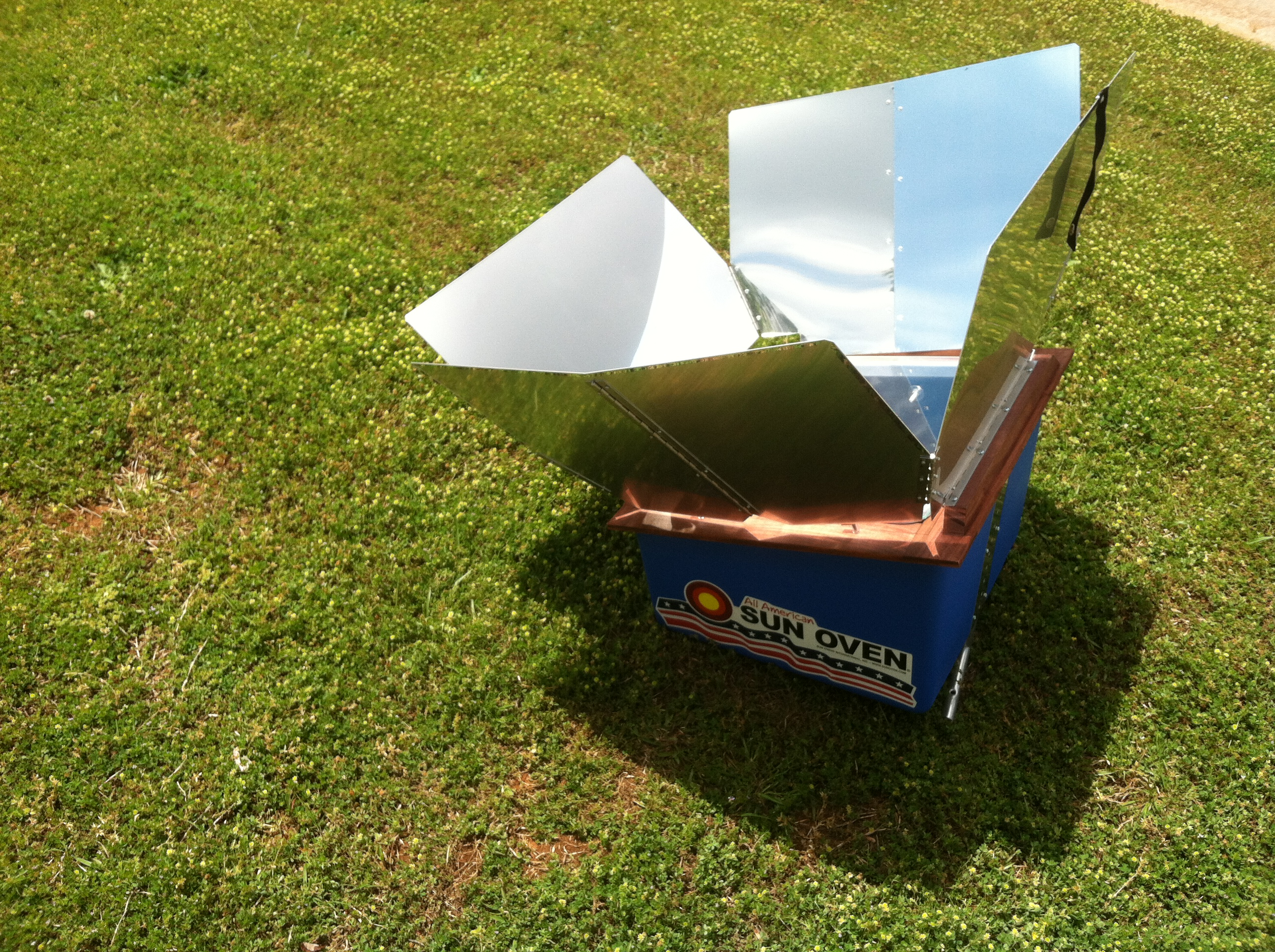 Solar cooker lab report