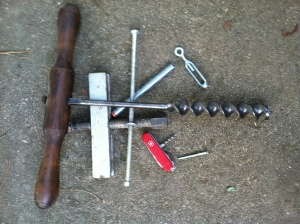 The Swiss Army cork screw for opening that last bottle of dandelion wine!