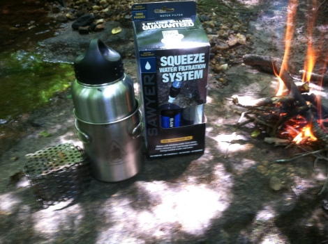 sawyer squeeze water filter