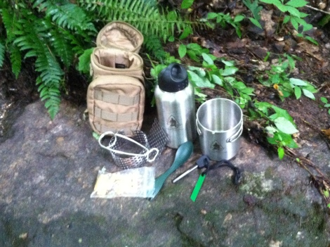pathfinder bottle cooking set