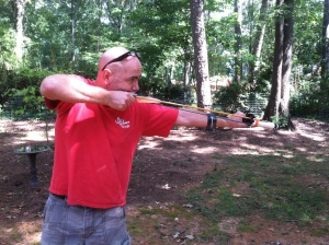 A DiY Survival Sling Shot with Big Game Capabilities