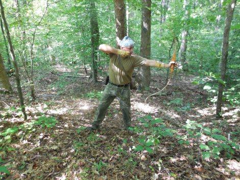Stump Shooting as a Survival Skill