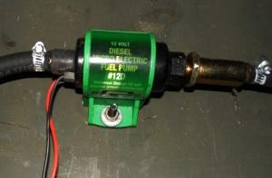 Jim's DiY Fuel Transfer Pump: Don't Spit or Swallow