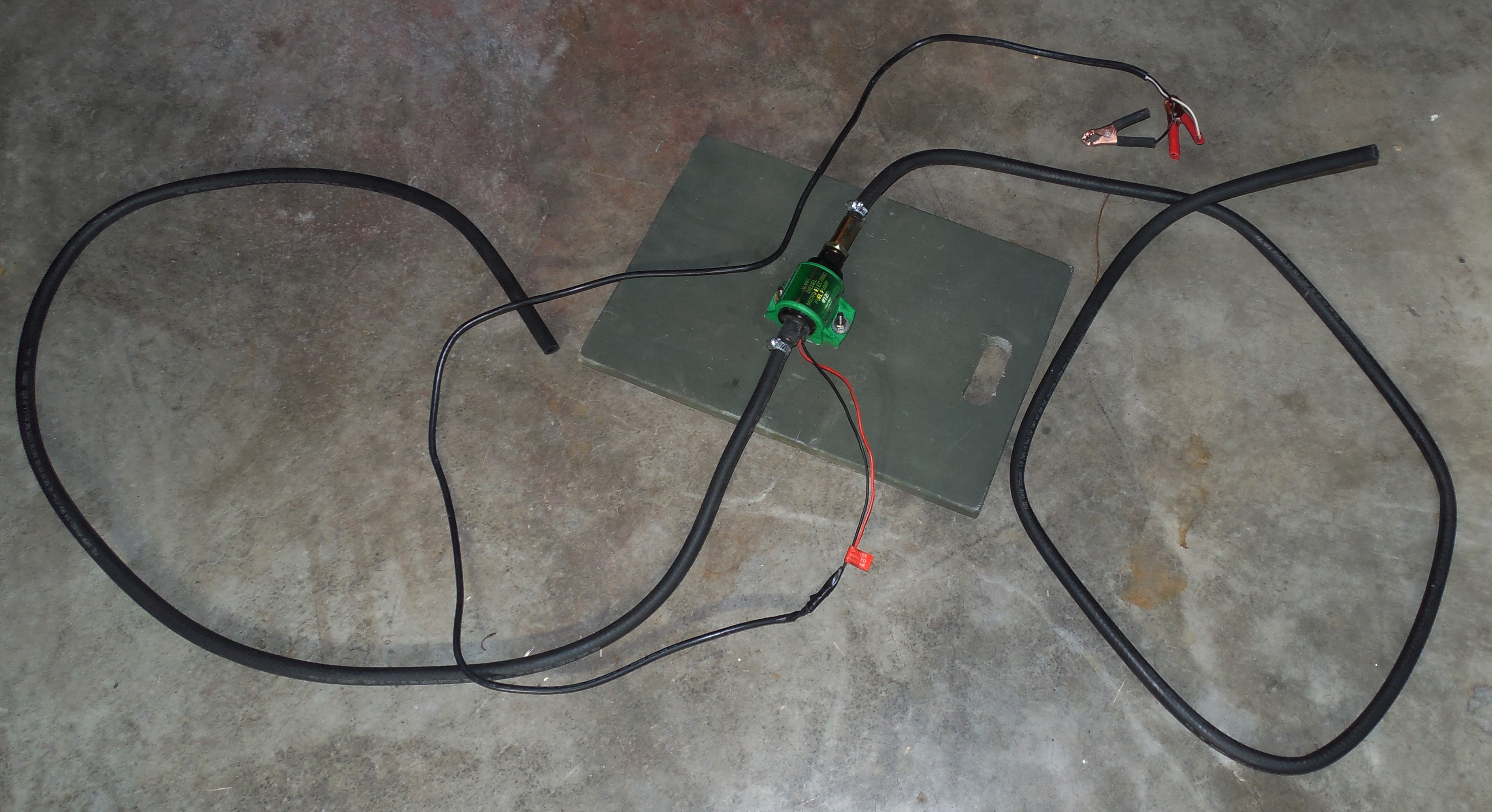 Jims Diy Fuel Transfer Pump Dont Spit Or Swallow Survival Sherpa Spare Electric Along With My Hose