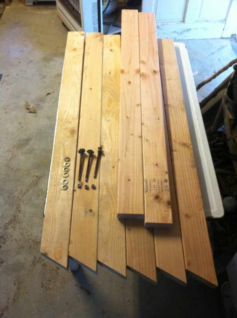 Build Knockdown Sawhorse Plans