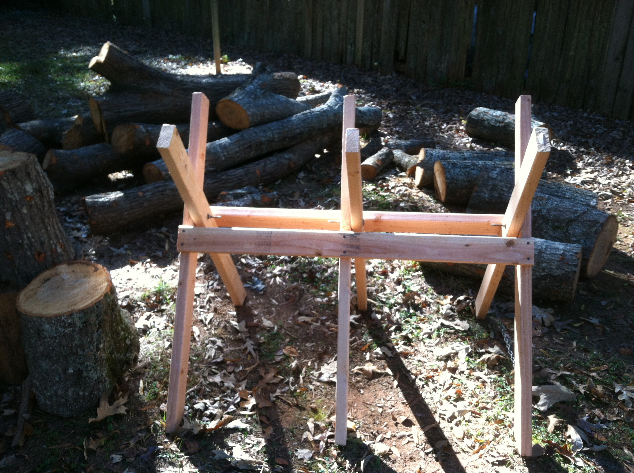 Building A Sawbuck Work Smarter In The Woodpile
