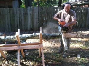 Sawbuck: Work Smarter in the Woodpile