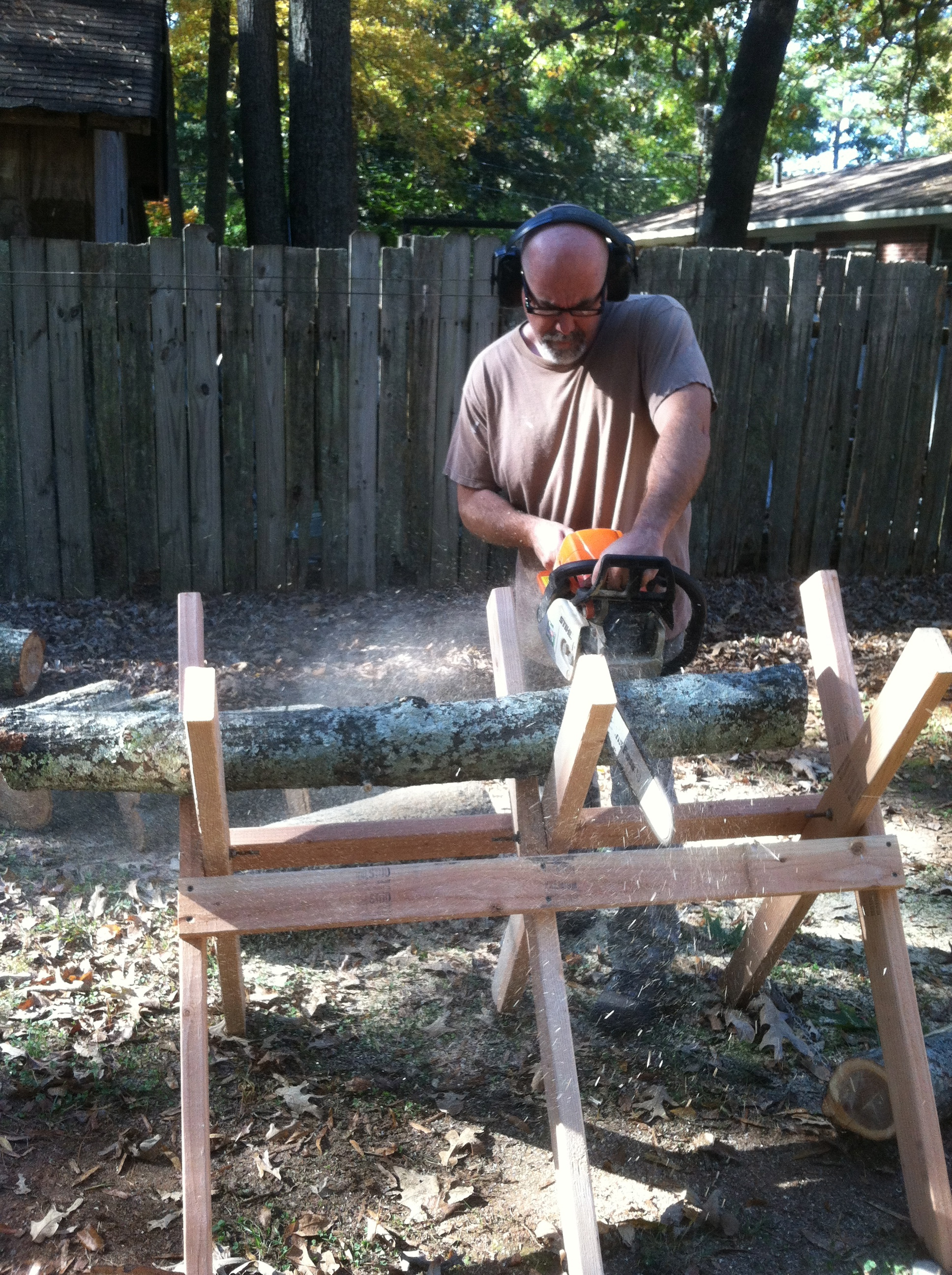 building a sawbuck work smarter in the woodpile survival sherpa