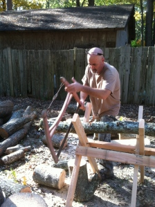 DiY Sawbuck: Work Smarter in the Woodpile