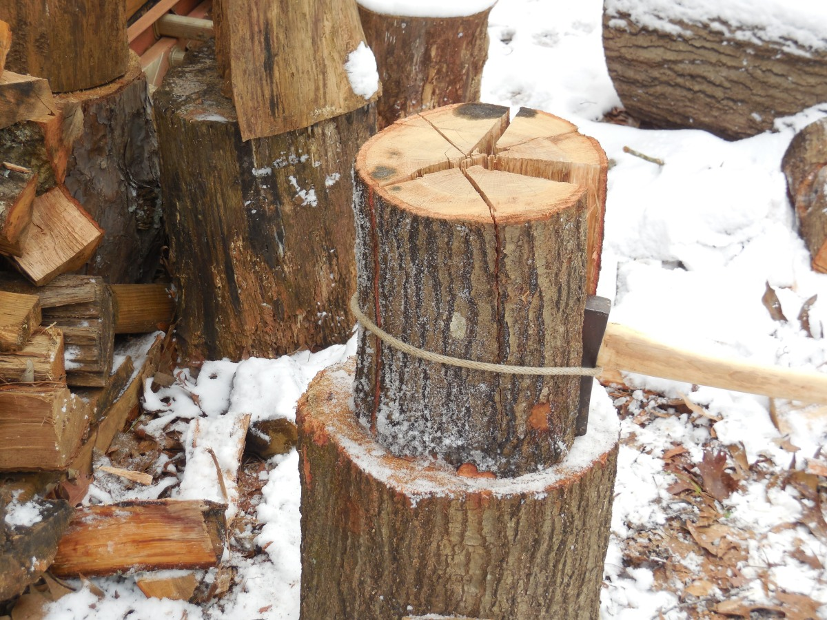 Sharp Sherpa Tip Processing Wood Safely With Your Ax