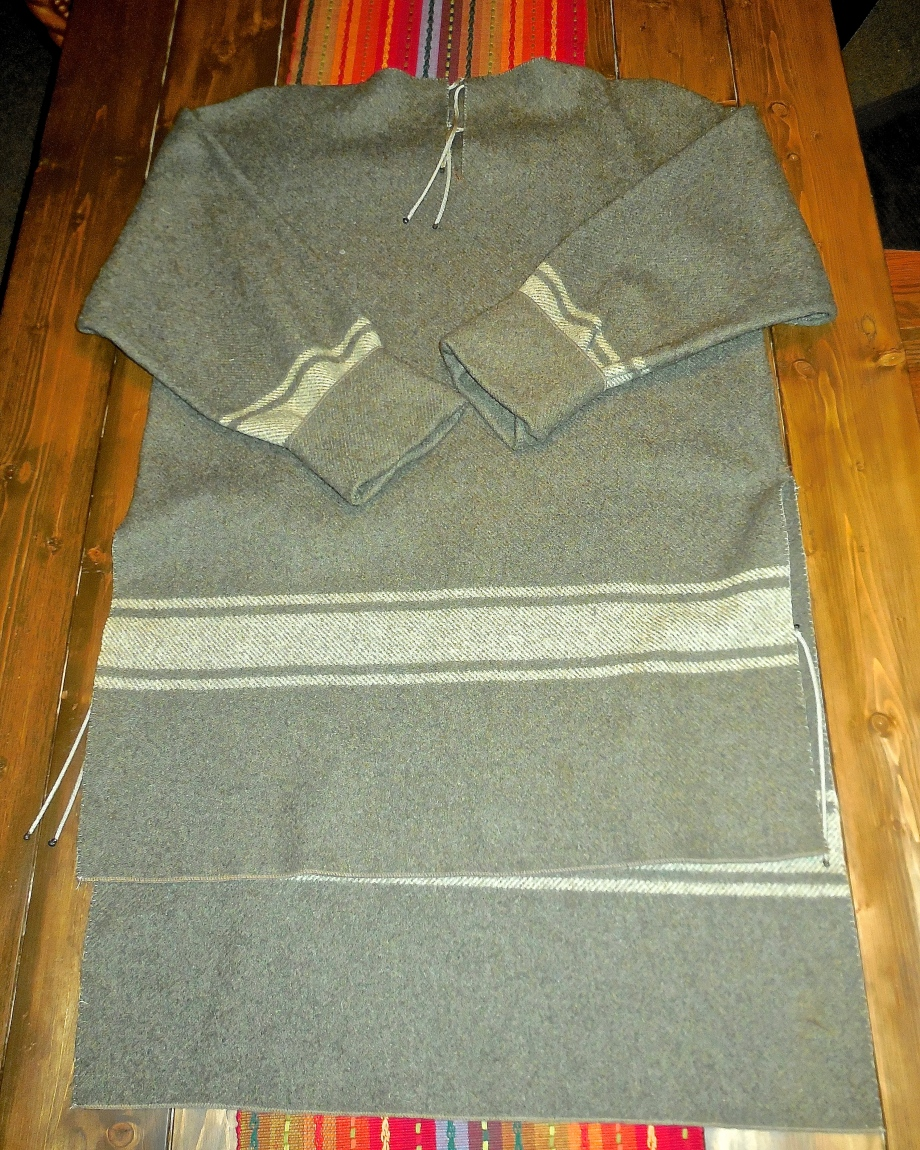 100% Wool Blanket = Awesome Hunting Shirt