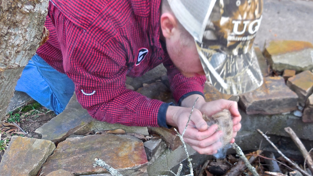 Friction Fire: The Art of Rubbing Sticks Together