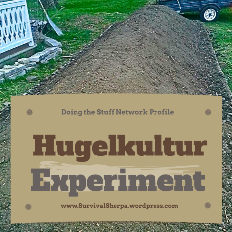 DTS Network Project: A Hugelkultur Bed Experiment