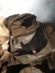 Vintage Swiss Bread Bag Makes a Common Man's Haversack