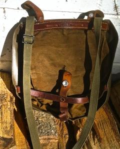 Vintage Swiss Bread Bag Makes a Common Man's Haversack