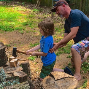 Passing Down Self-Reliance Skills to a Seven Year Old