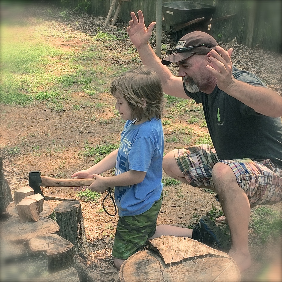 Passing Down Self-Reliance Skills to My Seven Year Old Grandson