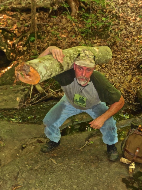 Ax-Manship: Tips for Splitting Long Logs for Firewood | www.TheSurvivalSherpa.com