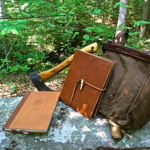 A Handcrafted Bushcraft Journal Giveaway for Your Journey to Self Reliance