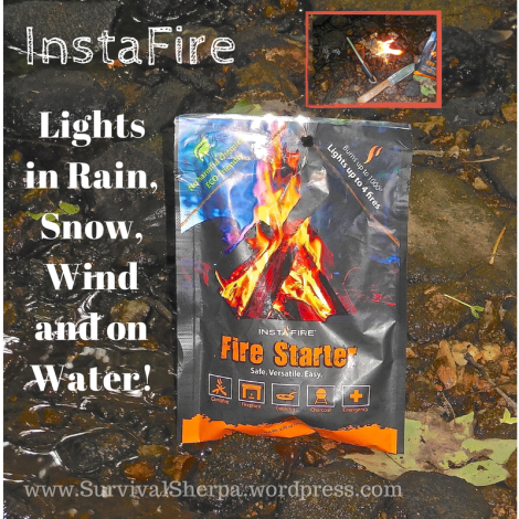InstaFire: Lights in Wind, Rain, Snow, and on Water!