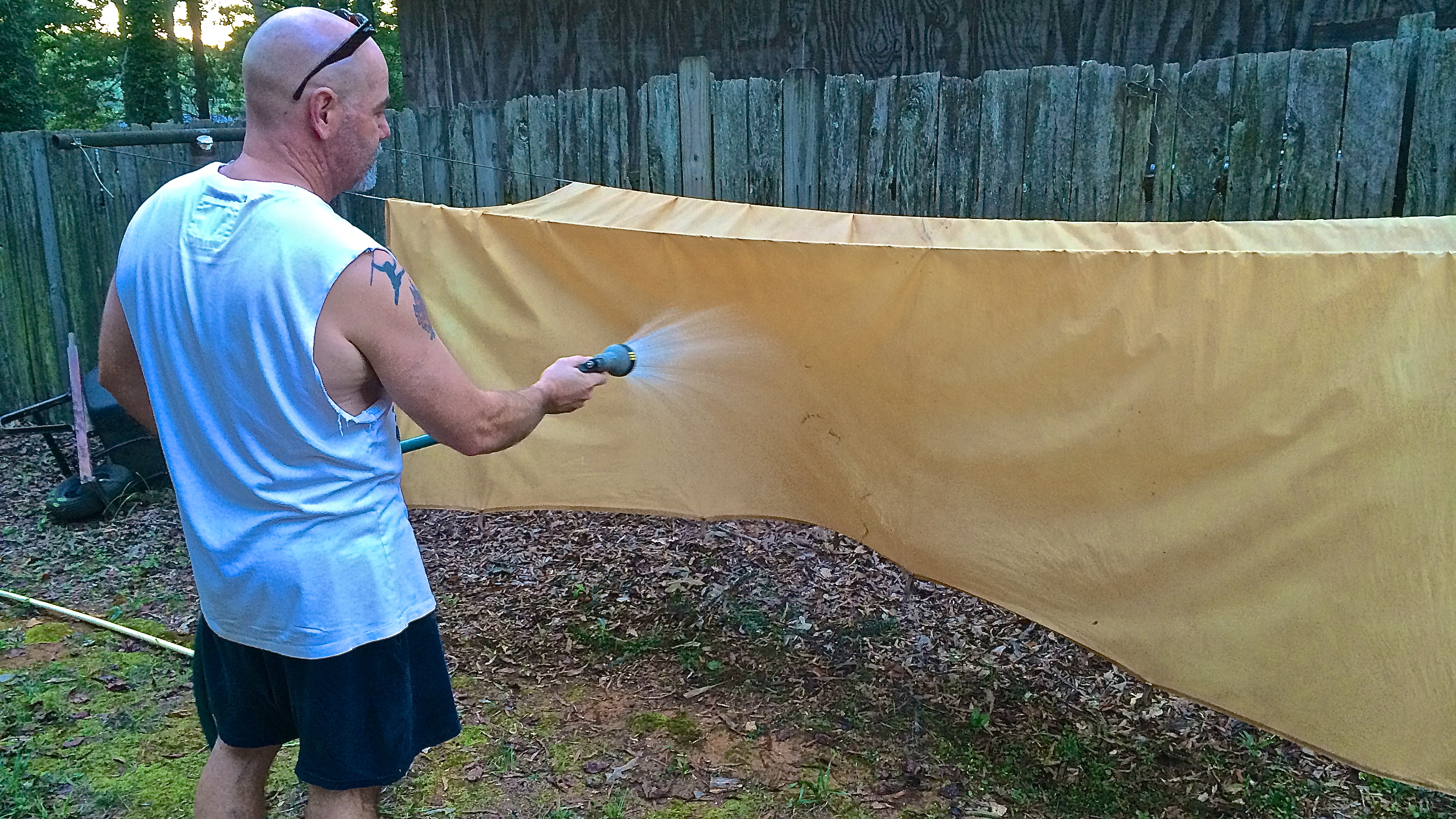How to Make Lightweight Oilskin Tarps from Bed Sheets & How to Make Lightweight Oilskin Tarps from Bed Sheets | Survival ...