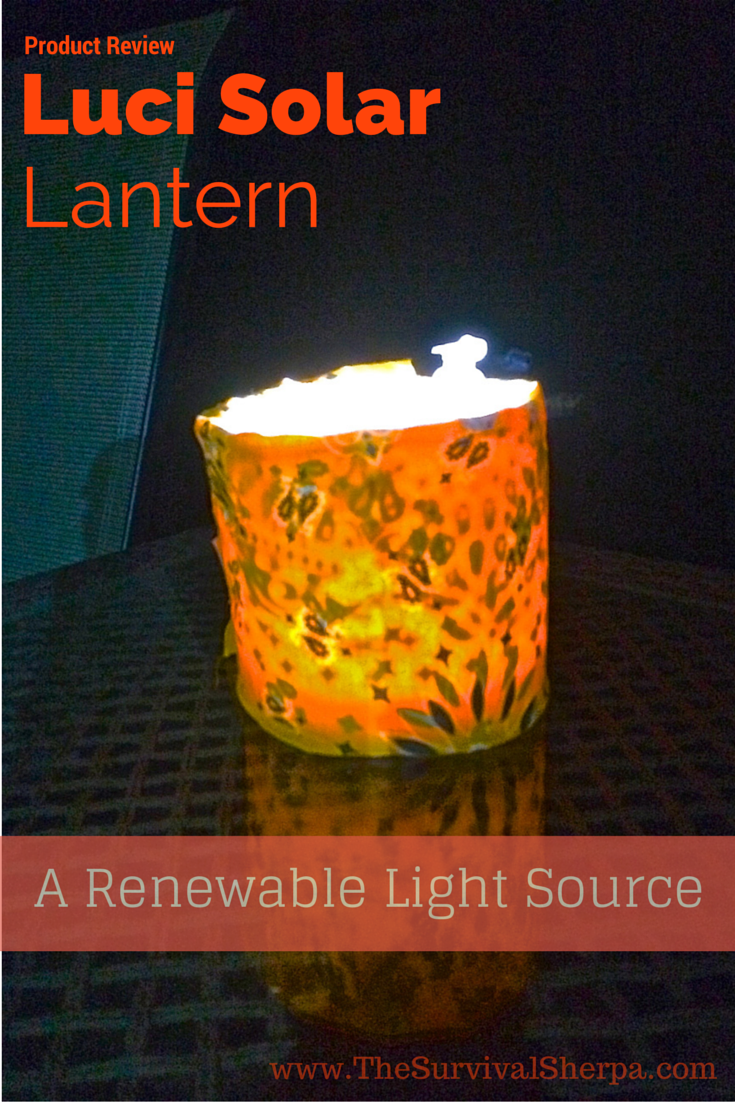 Luci Solar Lantern Review: A Lightweight Renewable Light ...