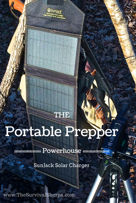 SunJack Solar Charger: Portable Prepper Power | www.TheSurvivalSherpa.com