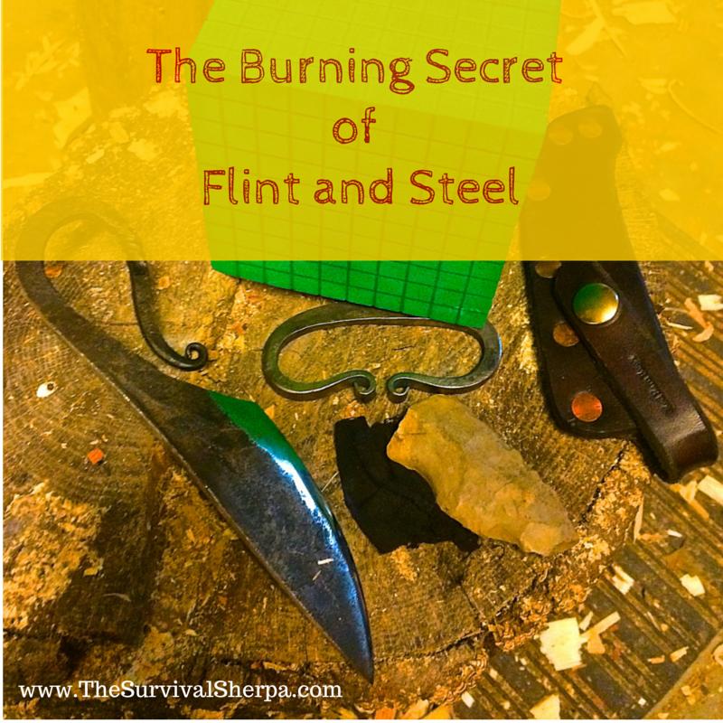 Full Fire Lighting Kit Bushcraft Survival Traditional Flint /& Steel Tinderbox