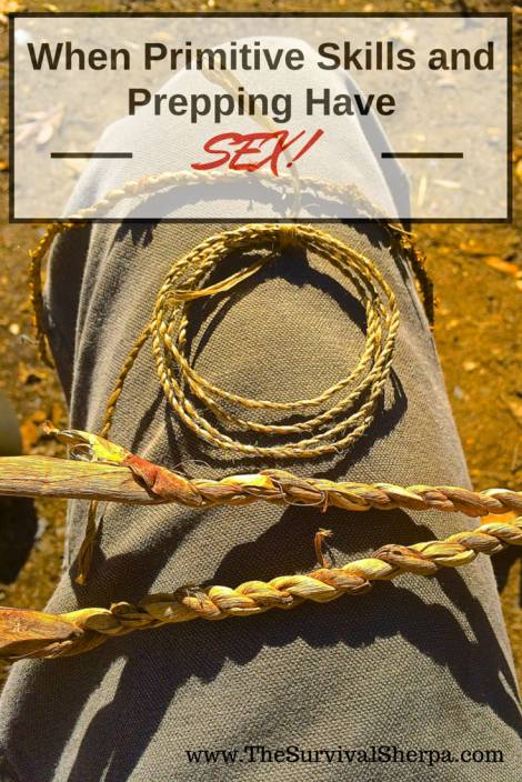 When Primitive Skills and Prepping Have Sex | www.TheSurvivalSherpa.com