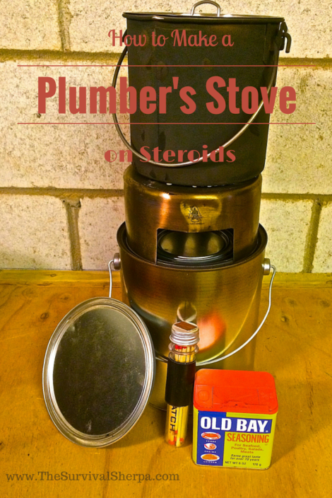 How to Make a Plumber's Stove on Steriods