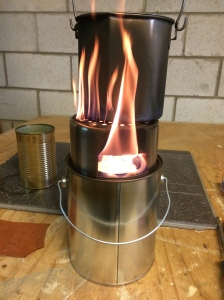 How to Make a Plumber's Stove on Steroids for Cooking and Warmth | www.TheSurvivalSherpa.com