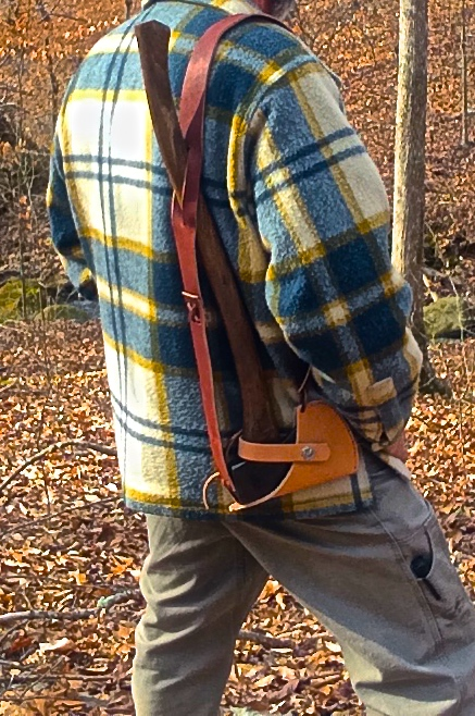 How to Make a Hands-Free Ax Carrying System | www.TheSurvivalSherpa.com