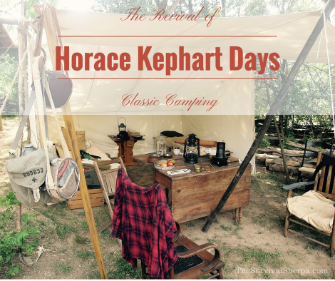 Horace Kephart Days: The Revival of Classic Camping - TheSurvivalSherpa.com