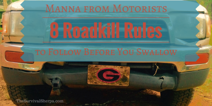 Manna from Motorists- 8 Roadkill Rules to Follow Before You Swallow - www.TheSurvivalSherpa.com
