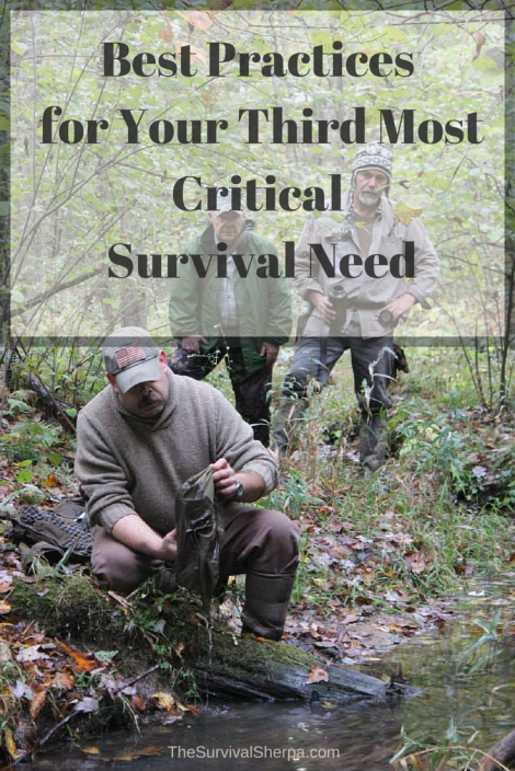Best Practices for Your Third Most Critical Survival Priority - TheSurvivalSherpa.com