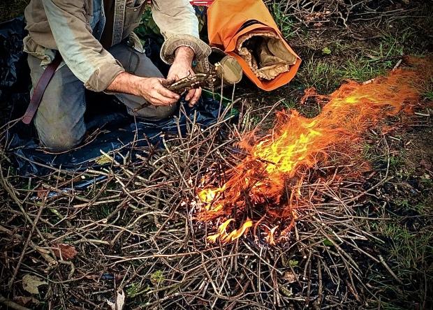 Down n Dirty Twig fire