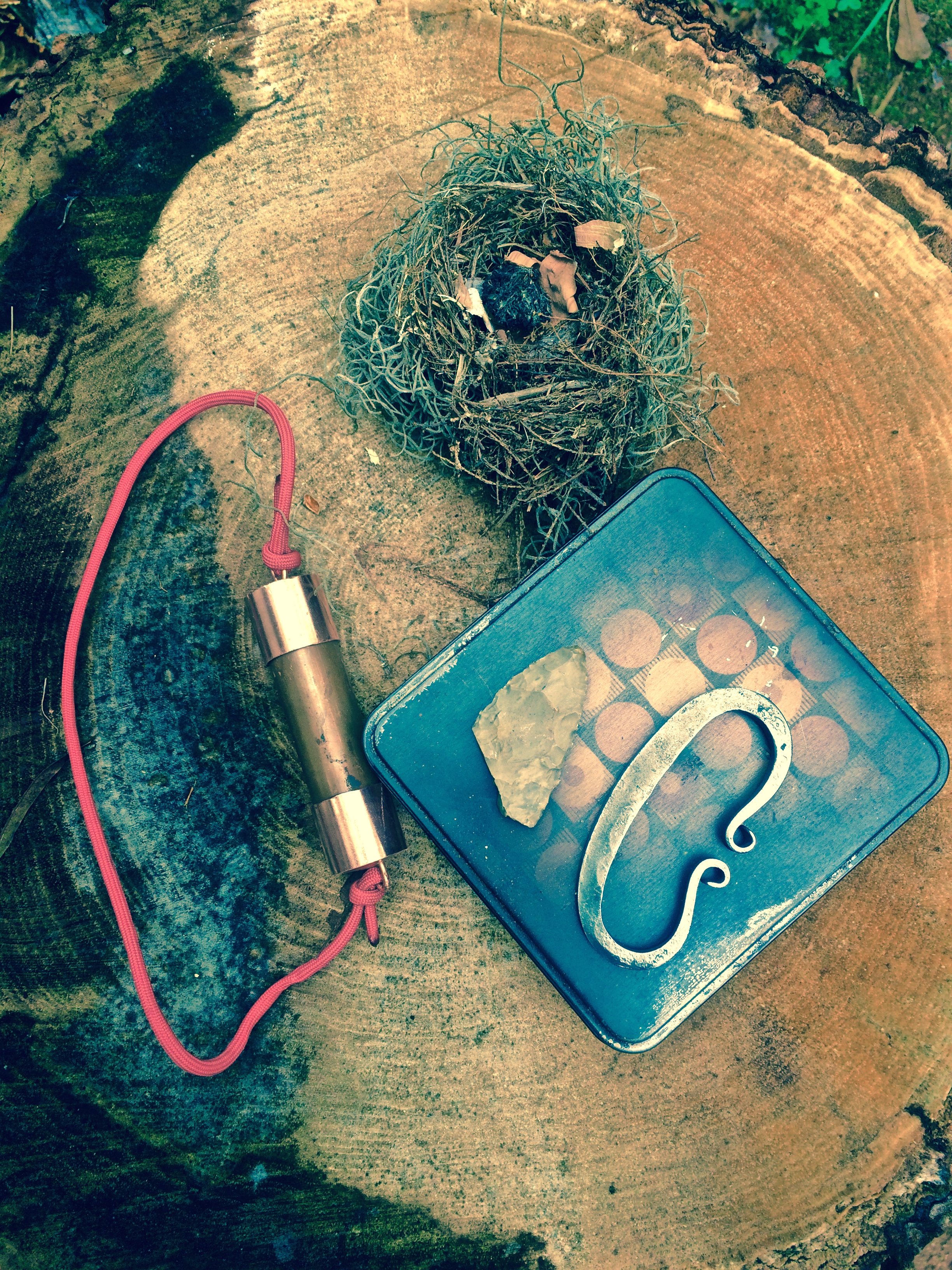 How To Make A Pocket Tonteldoos Tinderbox For Flint And