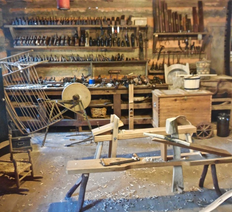 Pioneer tools at Foxfire Museum