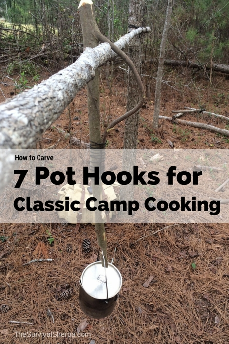 How to Carve 7 Pot Hooks for Classic Camp Cooking