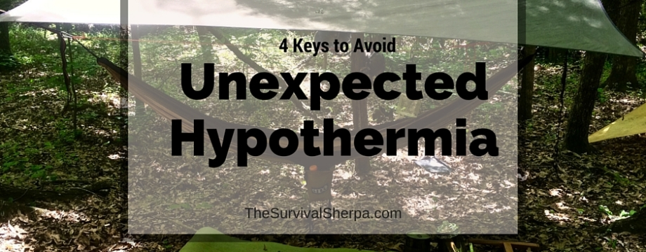 Spring Camping- 4 Keys to Avoid Unexpected Hypothermia - TheSurvivalSherpa.com