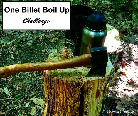 Camp Craft Challenge- The One Billet Boil Up - TheSurvivalSherpa.com