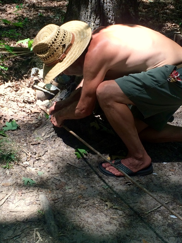 How to Straighten, Haft, and Fletch River Cane Atlatl Darts - TheSurvivalSherpa.com