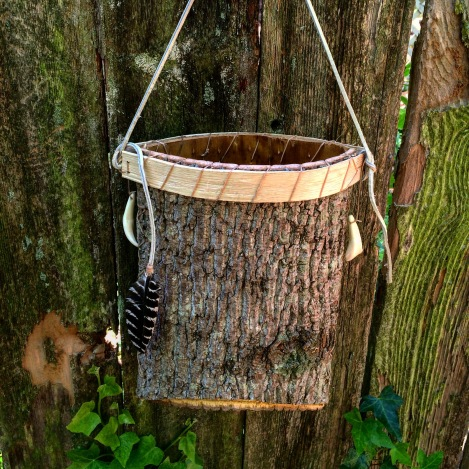 How to Make an Appalachian Berry Bucket from Tree Bark ~ TheSurvivalSherpa.com