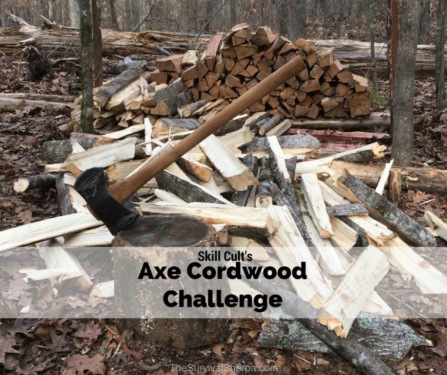Axe Cordwood Challenge Page