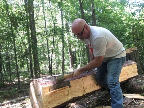 Logs to Lumber: Hand-Hewn Timber the Old Way - TheSurvivalSherpa.com