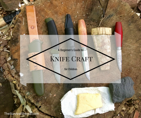 A Beginner's Guide to Knife Craft for Children ~ TheSurvivalSherpa.com