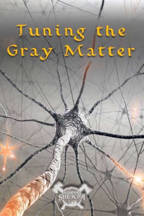 Tuning the Gray Matter ~ TheSurvivalSherpa.com